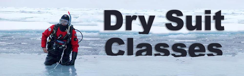Dry Suit Diving Class